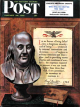 Saturday Evening Post, January 20, 1951 - Benjamin Franklin - bust and quote