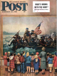 Saturday Evening Post, February 24, 1951 - Washington Crossing the Delaware