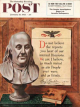 Saturday Evening Post, January 15, 1955 - Benjamin Franklin