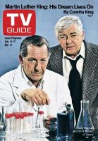 TV Guide, February 11, 1978 - Jack Klugman and Garry Walberg of 'Quincy'