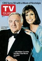 TV Guide, March 25, 1978 - Walter Cronkite and Mary Tyler Moore
