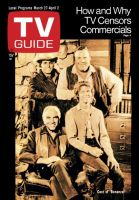 TV Guide, March 27, 1971 - Cast of 'Bonanza'