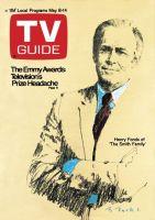 TV Guide,  May 8, 1971 - Henry Fonda of 'The Smith Family'