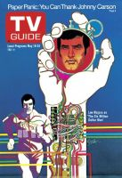 TV Guide, May 18, 1974 - Lee Majors as 'The Six Million Dollar Man'