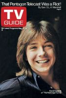 TV Guide, May 22, 1971 - David Cassidy of 'The Partridge Family'