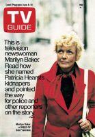 TV Guide, June 8, 1974 - Marilyn Baker of KQED-TV San Francisco