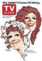 TV Guide, March 16, 1974 - Carol Burnett and Vicki Lawrence