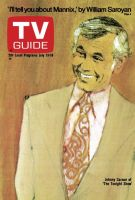 TV Guide, July 13, 1974 - Johnny Carson of 'The Tonight Show'