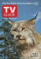 TV Guide, July 24, 1971 - Lefty, the star of Disney's Ding-a-Ling Lynx'
