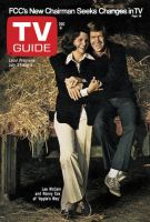 TV Guide, July 27, 1974 - Lee McCain and Ronny Cox of 'Apple's Way'