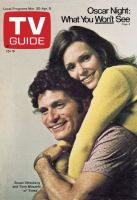 TV Guide, March 30, 1974 - Susan Strasberg and Tony Musante of 'Toma'