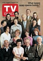 TV Guide, August 7, 1971 - Cast of 'As the World Turns'