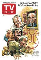 TV Guide, April 6, 1974 - Carroll O'Connor, Bill Macy, Redd Foxx & Norman Lear