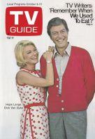 TV Guide, October 9, 1971 - Hope Lange, Dick Van Dyke