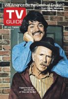 TV Guide, October 19, 1974 - Freddie Prinze and Jack Albertson of 'Chico and the Man'