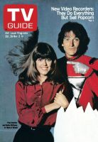 TV Guide, October 28, 1978 - Pam Dawber and Robin Williams of 'Mork &  Mindy'