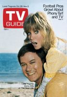 TV Guide, October 30, 1971 - Larry Hagman, Donna Mills of 'The Good Life'