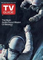 TV Guide, July 12, 1975 - Apollo/Soyuz Mission On Television