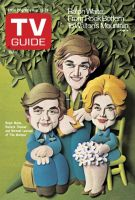 TV Guide,  August 23, 1975 - Ralph Waite, Richard Thomas and Michael Learned of 'The Waltons'