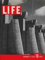 Life Magazine, November 23, 1936 - Fort Peck Dam