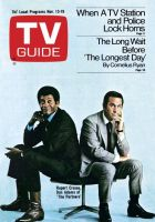TV Guide, November 13, 1971 - Rupert Crosse, Don Adams of 'The Partners'