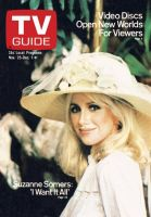 TV Guide, November 25, 1978 - Suzanne Somers: 'I Want it All'