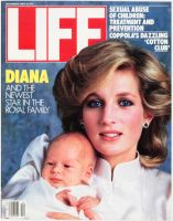 Life Magazine, December 1, 1984 - Princess Diana and Prince Harry