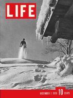 Life Magazine, December 7, 1936 - Skiing