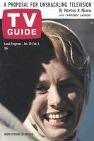 TV Guide, January 30, 1965 - Inger Stevens In Sweden