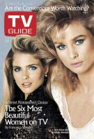 TV Guide, July 16, 1988 - Kim Alexis and Nicollete Sheridan
