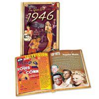 1946 MiniBook: 75th Birthday or Anniversary Gift