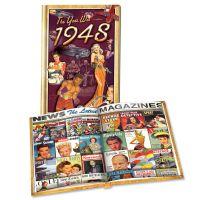 1948 MiniBook: 72st Birthday or Anniversary Gift