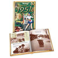 1951 MiniBook: 69th Birthday or Anniversary Gift