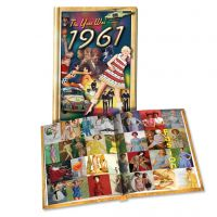1961 MiniBook: 59th Birthday or Anniversary Gift