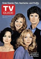 TV Guide, July 8, 1978 - Cast Members of 'The Young and the Restless'