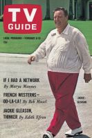 TV Guide, February 6, 1965 - Jackie - Gleason