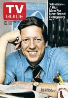 TV Guide, August 12, 1978 - David Hartman of 'Good Morning America'