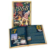 1968 MiniBook: 52th Birthday or Anniversary Gift