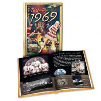 1969 MiniBook: 51th Birthday or Anniversary Gift