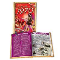 1970 MiniBook: 51th Birthday or Anniversary Gift