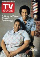 TV Guide, January 18, 1975 - Theresa Merritt and Clifton Davis of 'That's My Mama'