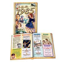 1985 MiniBook: 35rd Birthday or Anniversary Gift