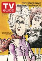 TV Guide, March 29, 1975 - Beatrice Arthur and Hermione Baddeley of 'Maude'