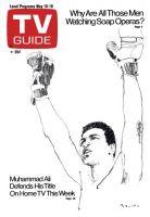 TV Guide, May 10, 1975 - Muhammad Ali