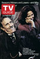 TV Guide, May 24, 1975 - Jason Robards and Colleen Dewhurst