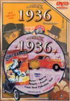 Events of 1936 DVD W/Greeting Card