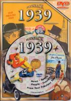 Events of 1939 DVD W/Greeting Card