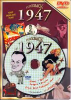 Events of 1947 DVD W/Greeting Card
