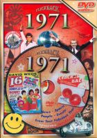 Events of 1971 DVD W/Greeting Card