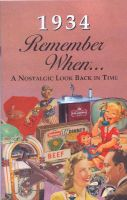 1934 Remember When Booklet